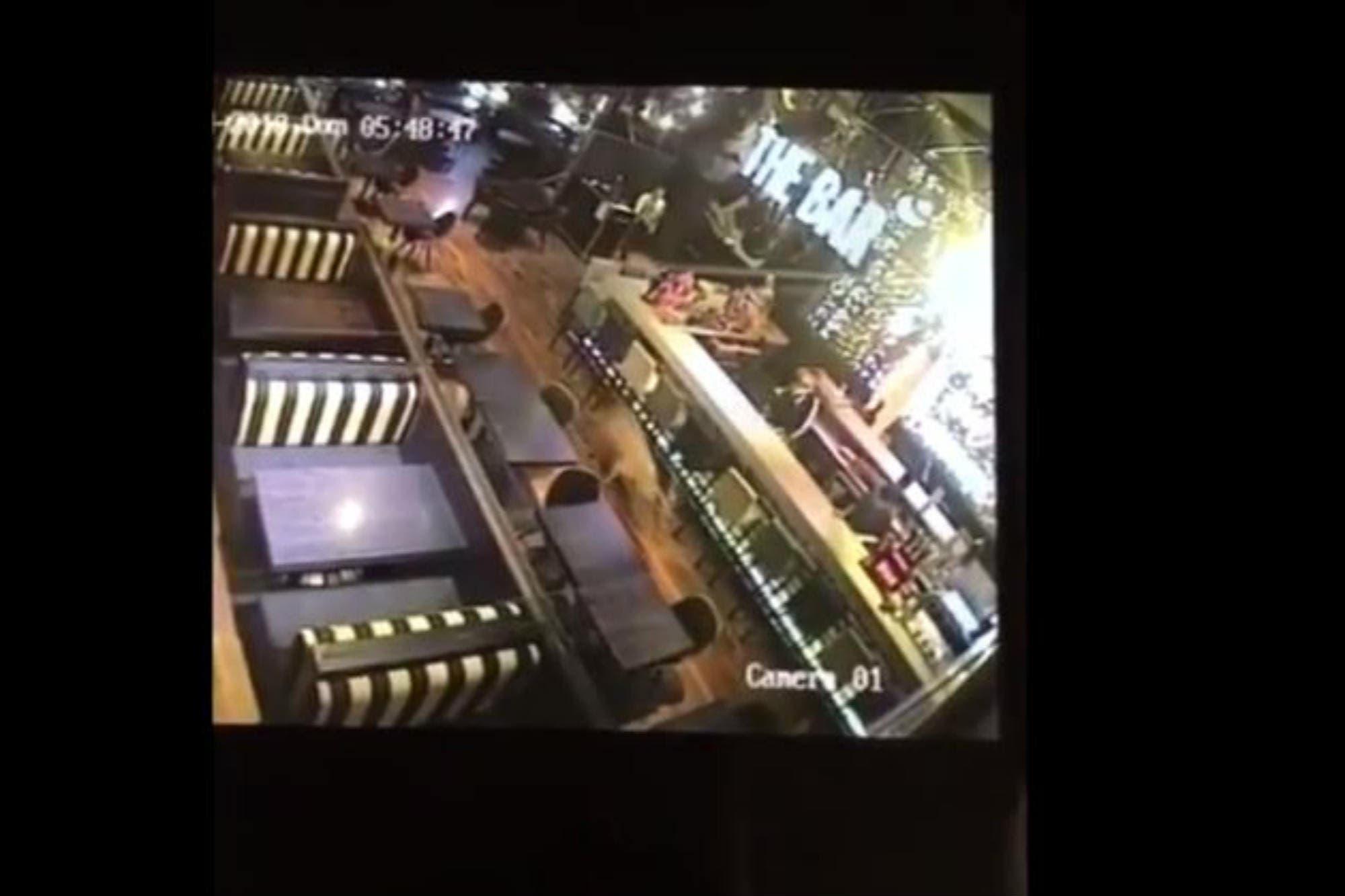Un ciervo ingresó el sábado a la noche a un bar de Rosario y hoy apareció muerto