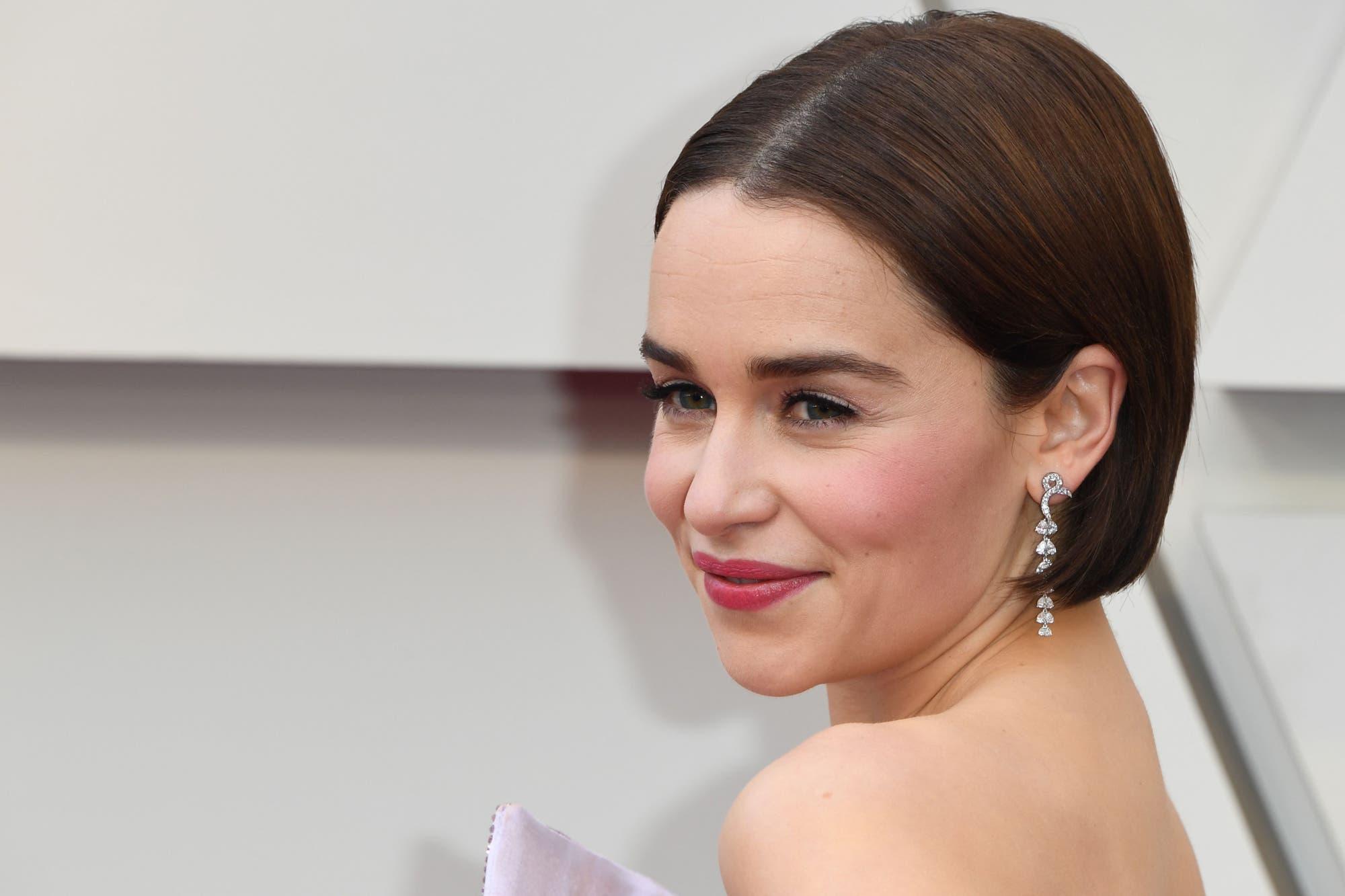 Emilia Clarke reveló por qué rechazó protagonizar 50 sombras de Grey