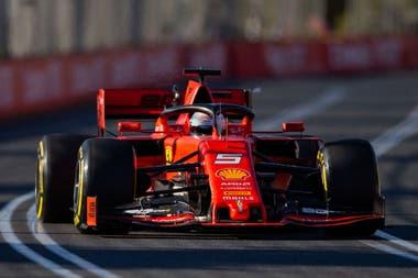Sebastien Vettel (Ferrari) está dispuesto a entablarle una dura lucha a Hamilton