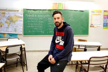 Nicolás, 30 años, CABA. La escuela lo sacó de la calle, le abrió la posibilidad de un futuro diferente