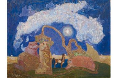 """En """"Fantasía"""", con sus caballitos rosados, Figari reivindica su derecho a soñar"""
