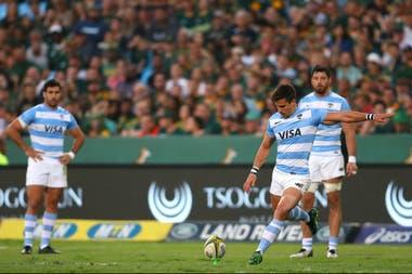 Joaquín Díaz Bonilla acertó un penal y un gol contra Sudáfrica en el último test match previo al Mundial.