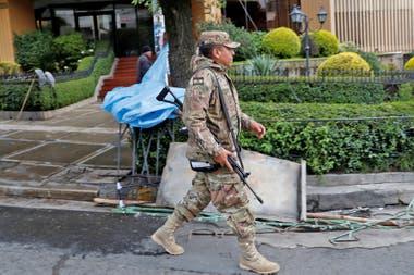 Hay patrullas conjuntas de militares y policías en las calles