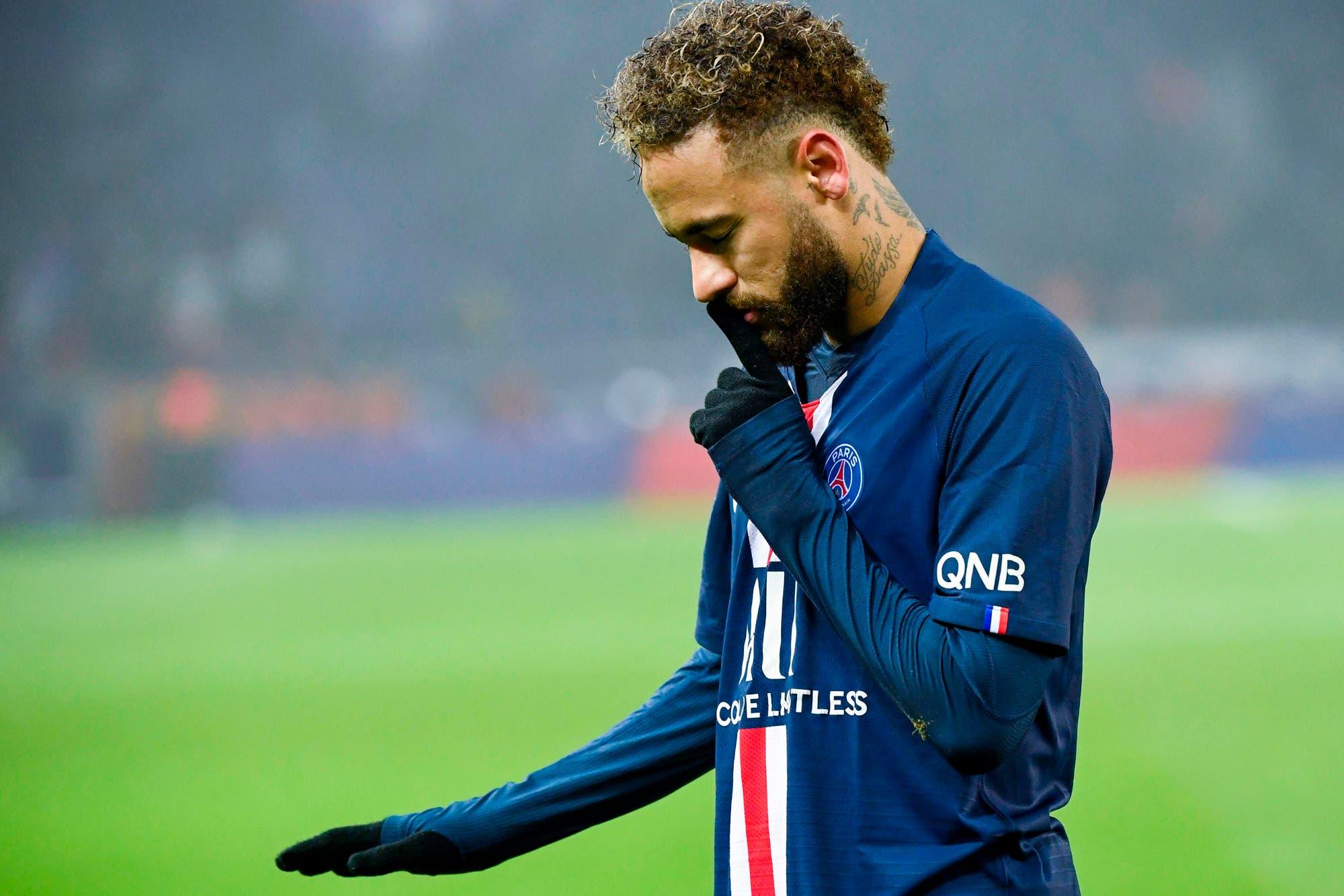 Ganó PSG: el golazo de taco de Mbappé, el gesto de Neymar a los hinchas y el blooper de Cavani