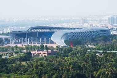 El World Games Stadium es un estadio multiusos en Kaohsiung, Taiwán. Inaugurado para ser sede de los Juegos Mundiales de 2009
