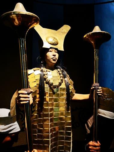 La Dama de Cao, antigua gobernante moche que fue descubierta en 2005
