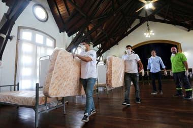 En La Plata, se arma un centro de baja complejidad en la República de los Niños