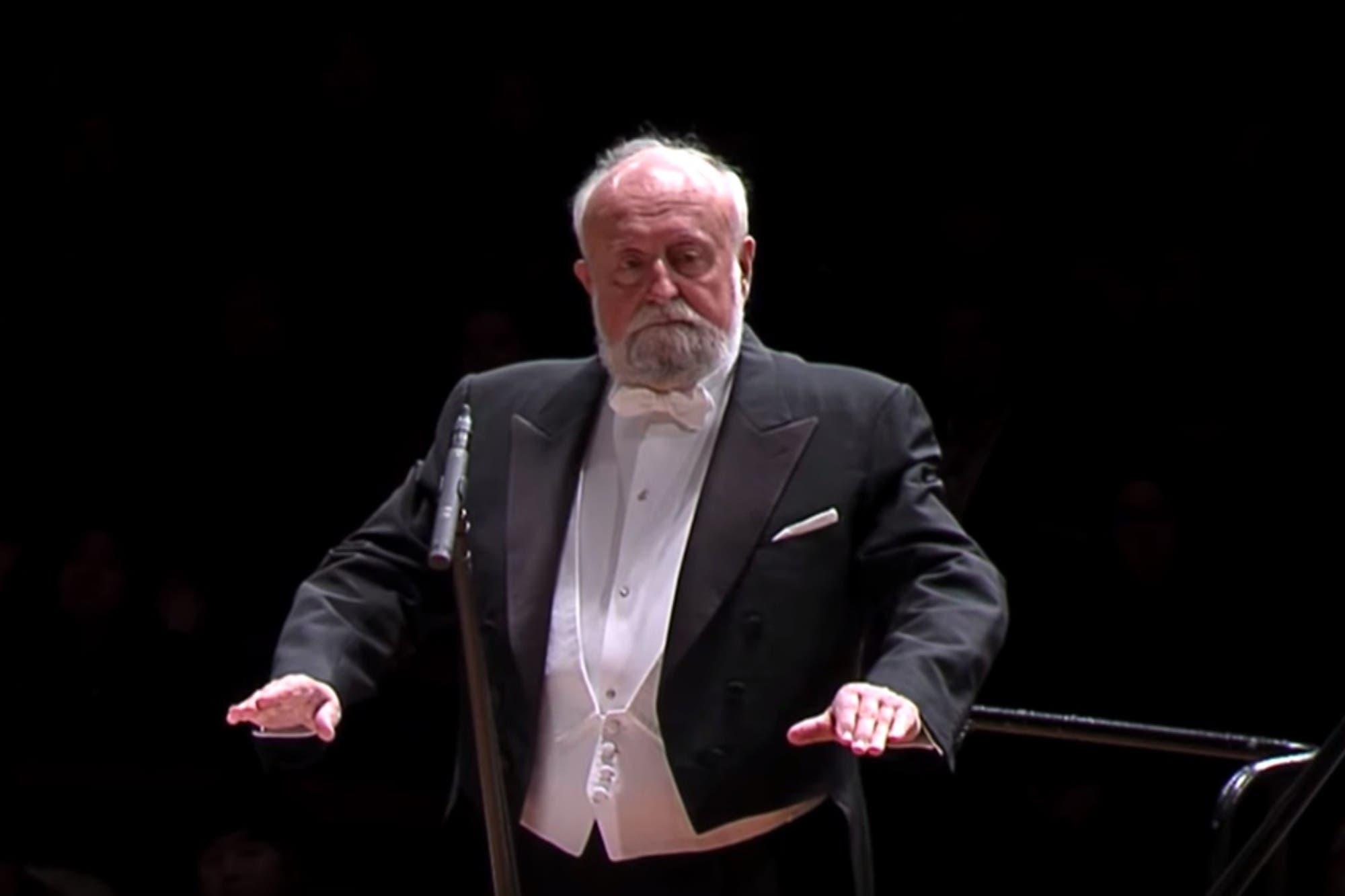 Murió el gran compositor polaco Krzysztof Penderecki