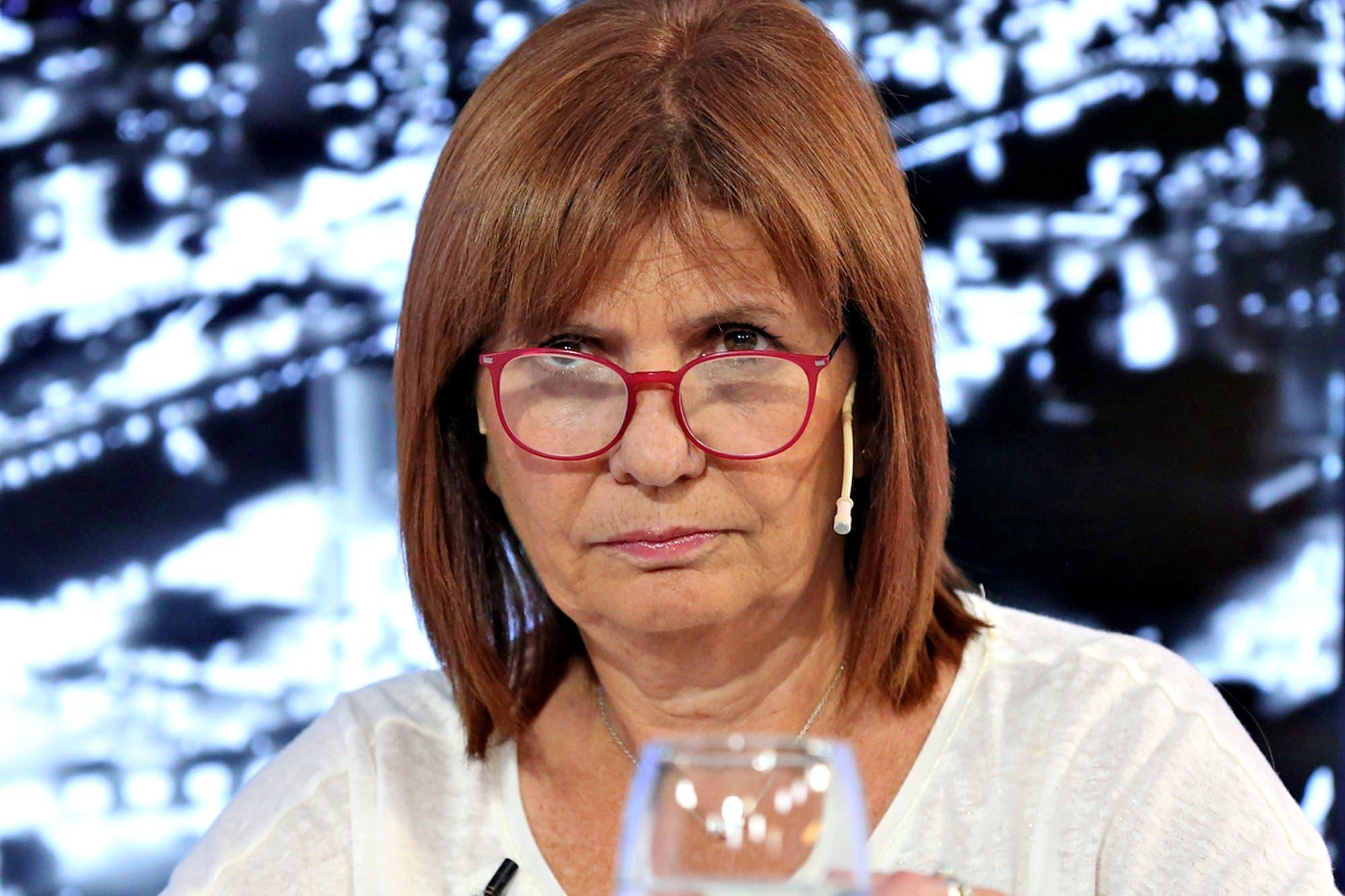 """La muerte de Diego Maradona. Patricia Bullrich, sobre los incidentes en la Casa Rosada: """"La responsabilidad es del Presidente"""""""