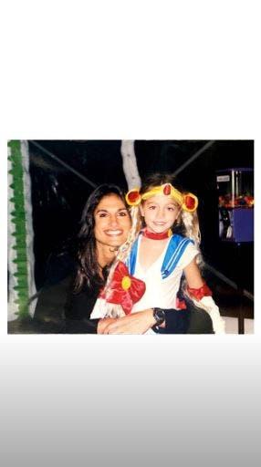 Gabriela Sabatini y su sobrina Oriana. Una relación muy estrecha