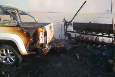 La camioneta que perdió Vissani