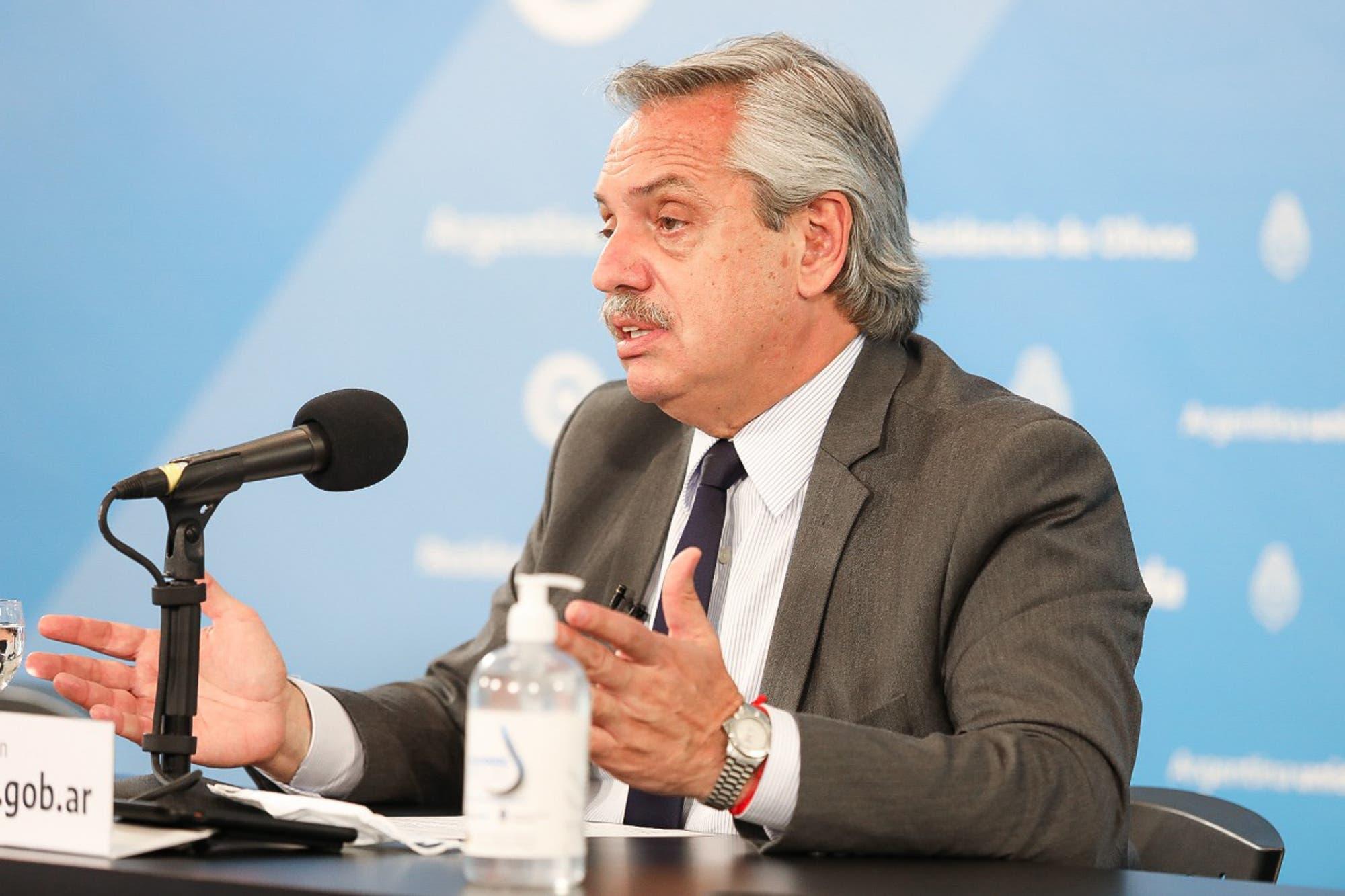 Dispo, ASPO y vacunas: las principales frases de Alberto Fernández en un nuevo anuncio