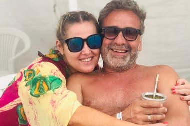 Pilar y Rafa, durante sus vacaciones en Pinamar