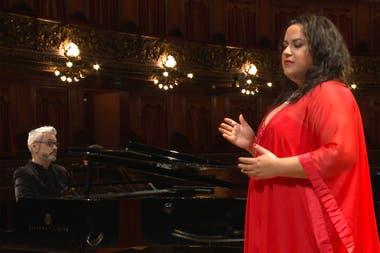 Maria Castillo de Lima interpretará sus canciones acompañada por el pianista César Tello
