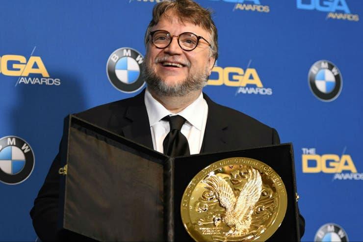 Guillermo del Toro, ganador del premio del Sindicato de Directores, es el favorito para alzarse con el Oscar al mejor realizador por La forma del agua