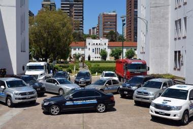 Autos decomisados. Las fuerzas de seguridad cuentan con 276 vehículos que se agolpan en playones judiciales