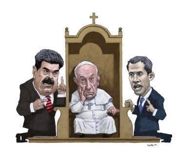 La postura del Papa ante el conflicto político le generó críticas en la región; sin embargo, aunque no lo reconozca en público, el Vaticano trabaja en silencio para una salida de Maduro