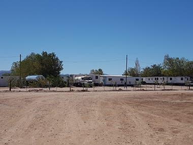 En el pueblo de Pata Mora, en Malargüe, en el sur mendocino, se prepara la construcción de un polo industrial, que incluirá todo tipo de bienes y servicios, entre ellos hotelería y seguridad.
