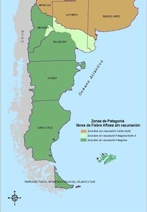 La situación sanitaria por regiones