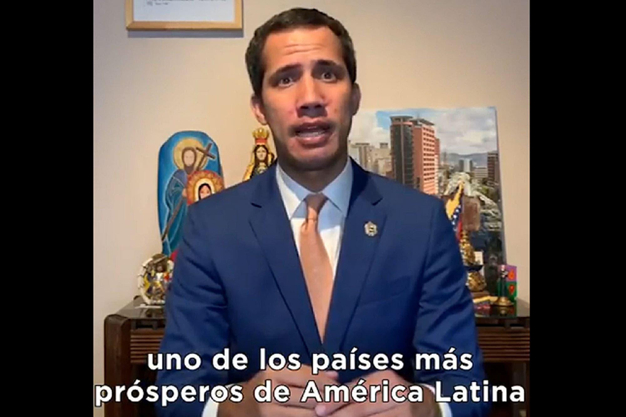 Guaidó llamó a votar por Macri para evitar una crisis como en Venezuela