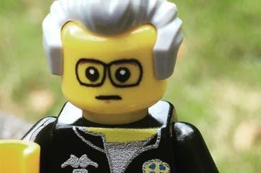 El lego que se inspira en Bielsa, presente en el partido de Leeds.