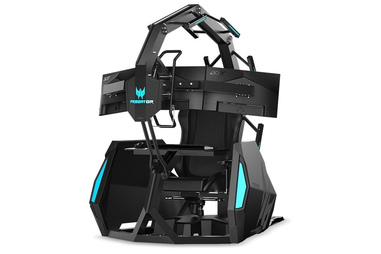 Predator Thronos Air: el mejor sillón gamer ahora también te hace masajes de espalda