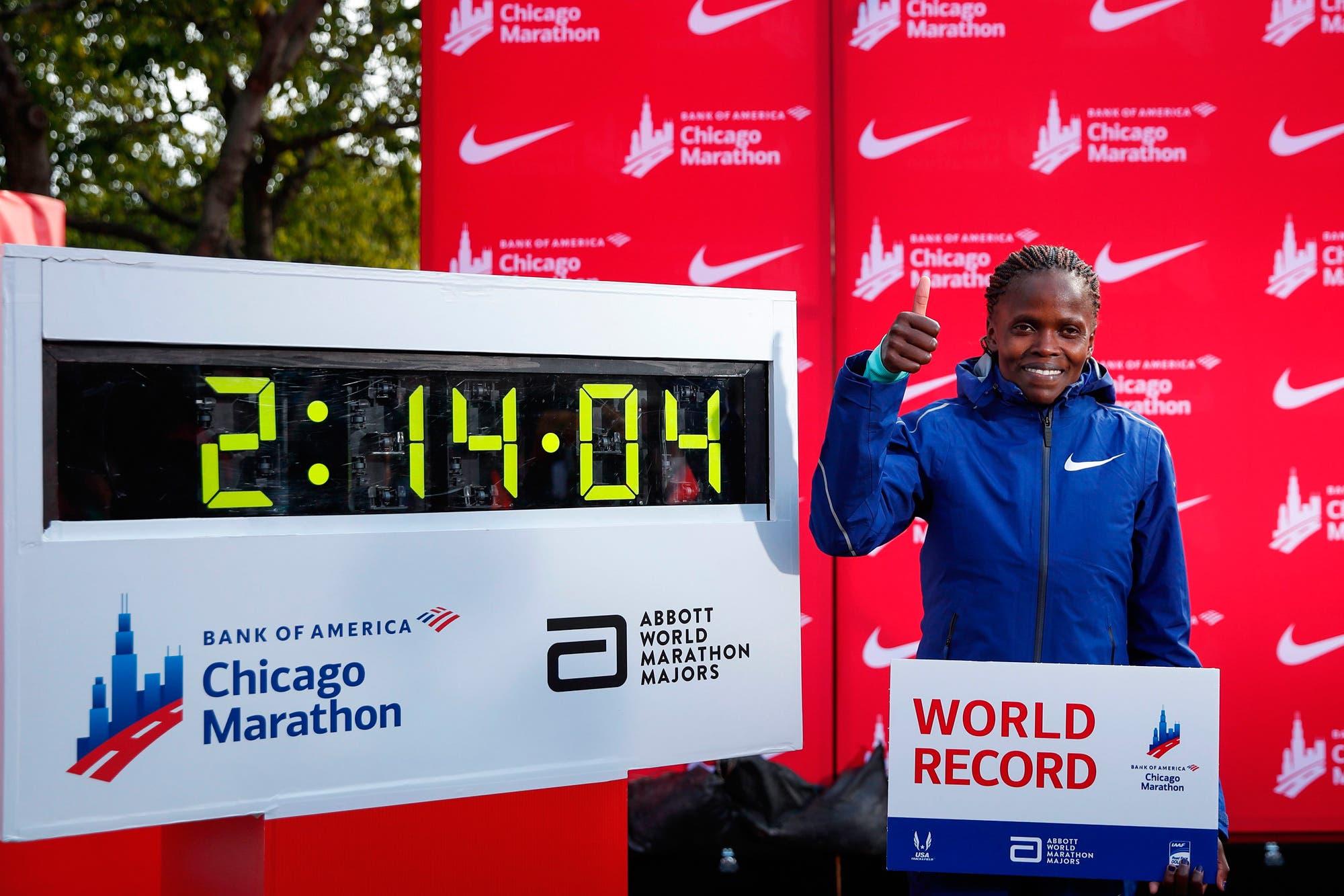 Chicago: Brigid Kosgei batió el récord mundial femenino de maratón tras 16 años