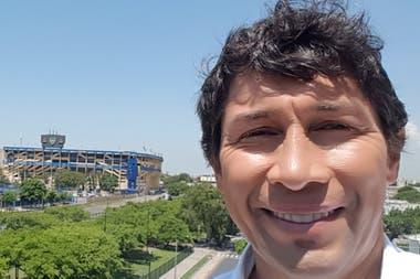 Jorge Bermúdez volvió a Boca luego de 18 años, como dirigente, y habló de la actualidad del club