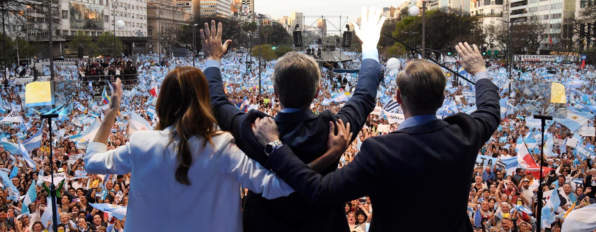 """Marcha del millón: en su acto más multitudinario, Mauricio Macri pidió """"no volver al pasado"""""""
