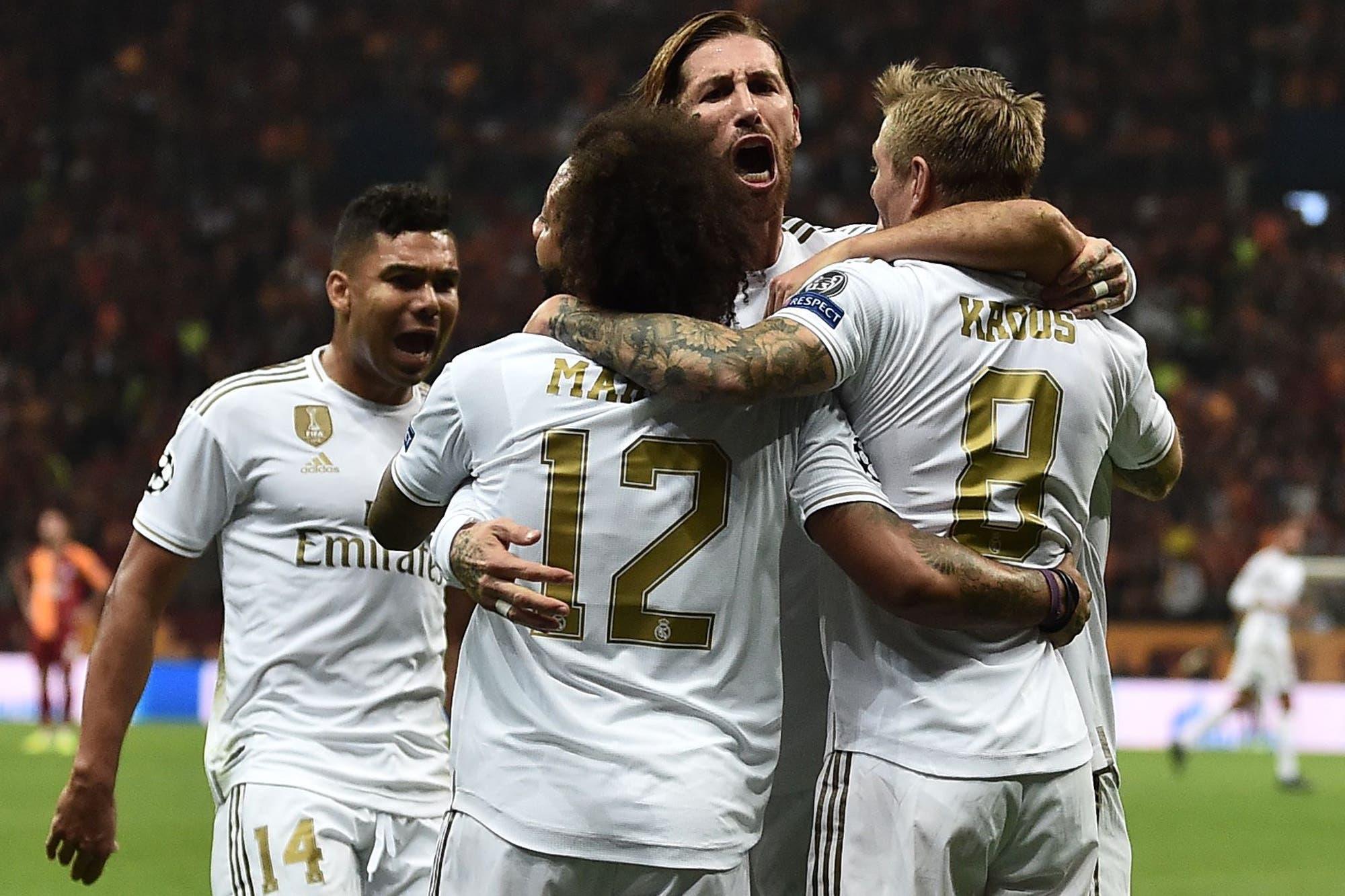 Galatasaray-Real Madrid, Champions League: el alivio para Zidane llegó con una victoria en Turquía