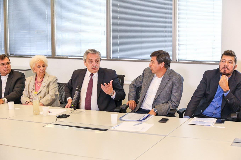 Alberto Fernández defendió a los famosos que participaron del encuentro contra el hambre