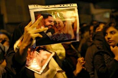 Los manifestantes pidieron la salida de Ali Khamenei