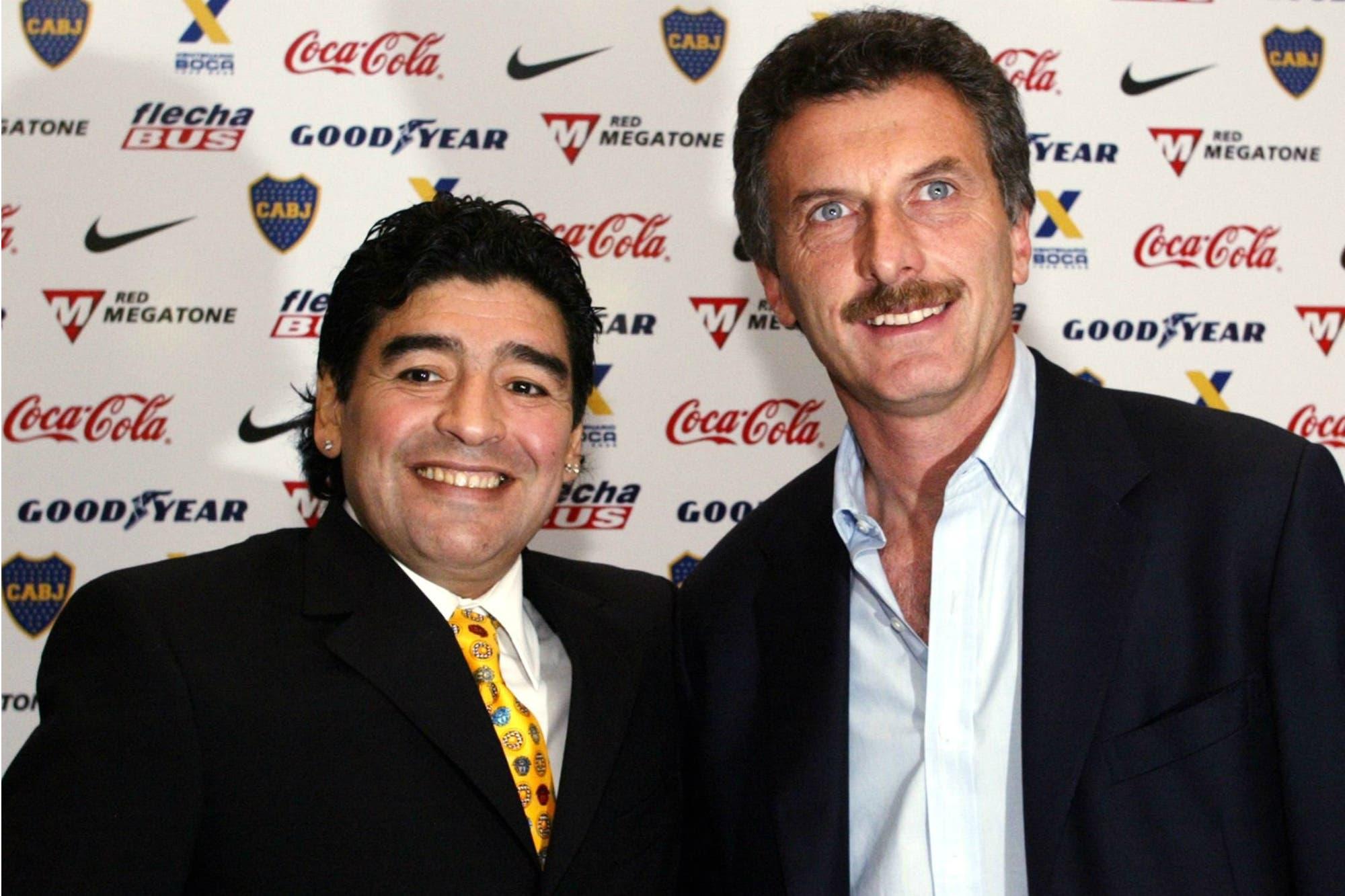 """""""Impostor"""": el contundente mensaje de Diego Maradona contra el nombramiento de Mauricio Macri en la FIFA"""