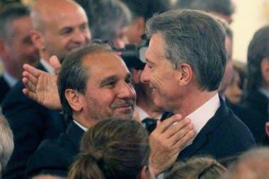 El empresario Nicolás Caputo fue siempre muy cercano al expresidente Mauricio Macri