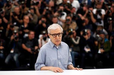 Woody Allen en Cannes, en 2016