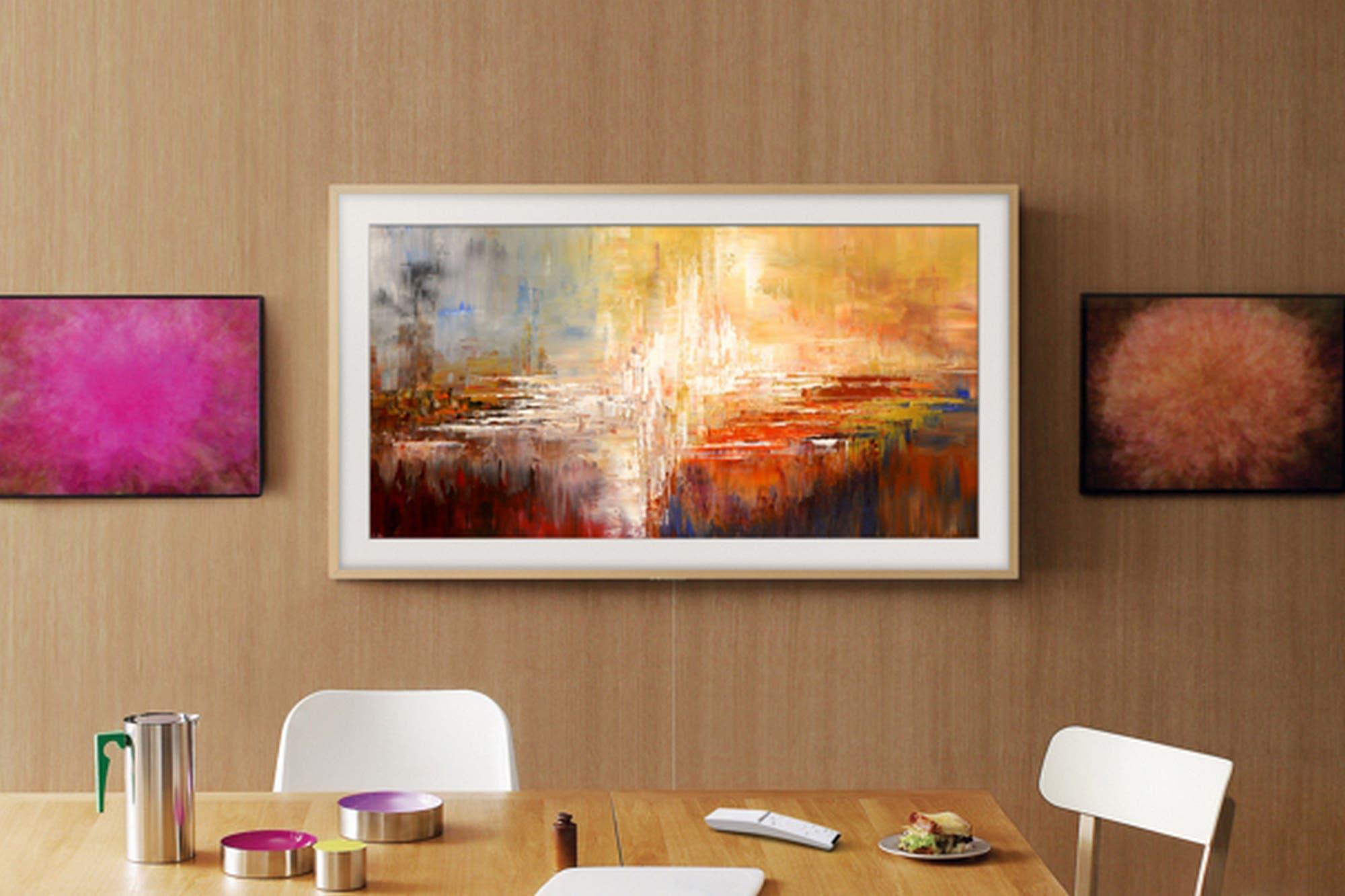 The Frame: Samsung lanza en la Argentina el televisor que se transforma en una obra de arte