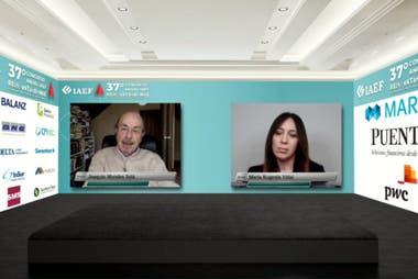 María Eugenia Vidal, en la charla de hoy con Joaquín Morales Solá