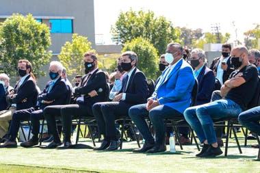 En octubre se sorteó la Copa Liga Profesional con la presencia de todos los dirigentes de primera en el predio de Ezeiza, donde se entrenan los seleccionados de la AFA.