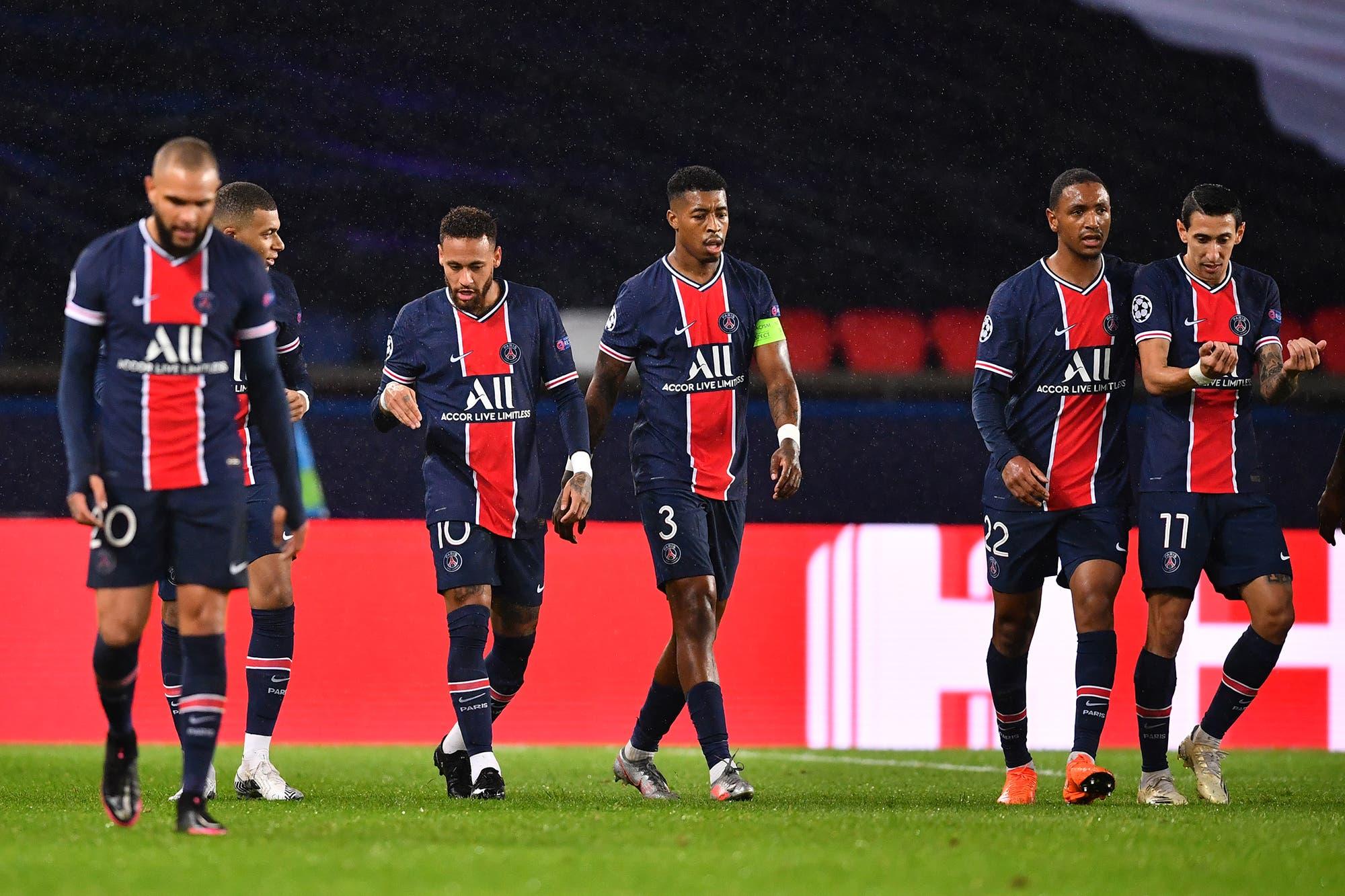 Decepción: PSG perdió como local con Manchester United en su debut en la Champions League
