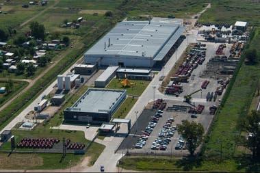 La planta de la empresa en General Rodríguez
