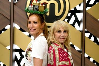 Analía Franchín y Claudia Villafañe, las dos finalistas de MasterChef Celebrity