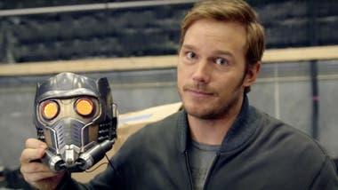 En buena medida, Chris Pratt le debe a esa máscara de Star-Lord su actual éxito en Hollywood