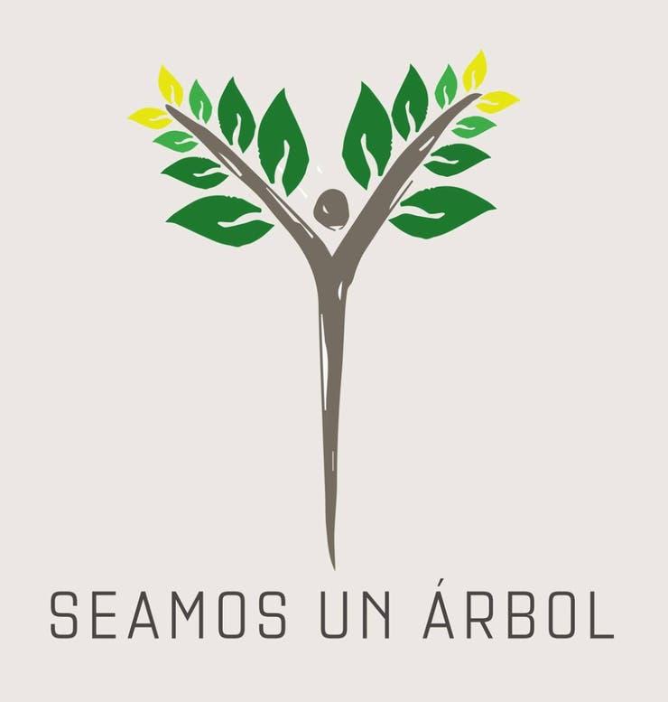 El logo de Seamos un árbol