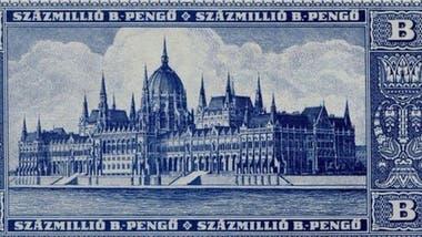 Hungría no pudo controlar la inflación después de la Segunda Guerra Mundial.