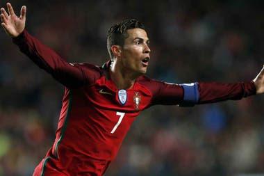 Cristiano Ronaldo, el arma de Portugal