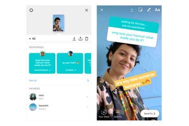 Las consultas recibidas se pueden ver desde la parte de estadísticas de la publicación en Instagram Stories, y las respuestas se pueden realizar de forma pública sin mención alguna al autor