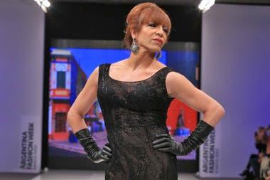 Lizy Tagliani siempre realiza humor desde su lugar como persona trans, desde burlarse de su voz hasta su aspecto físico.