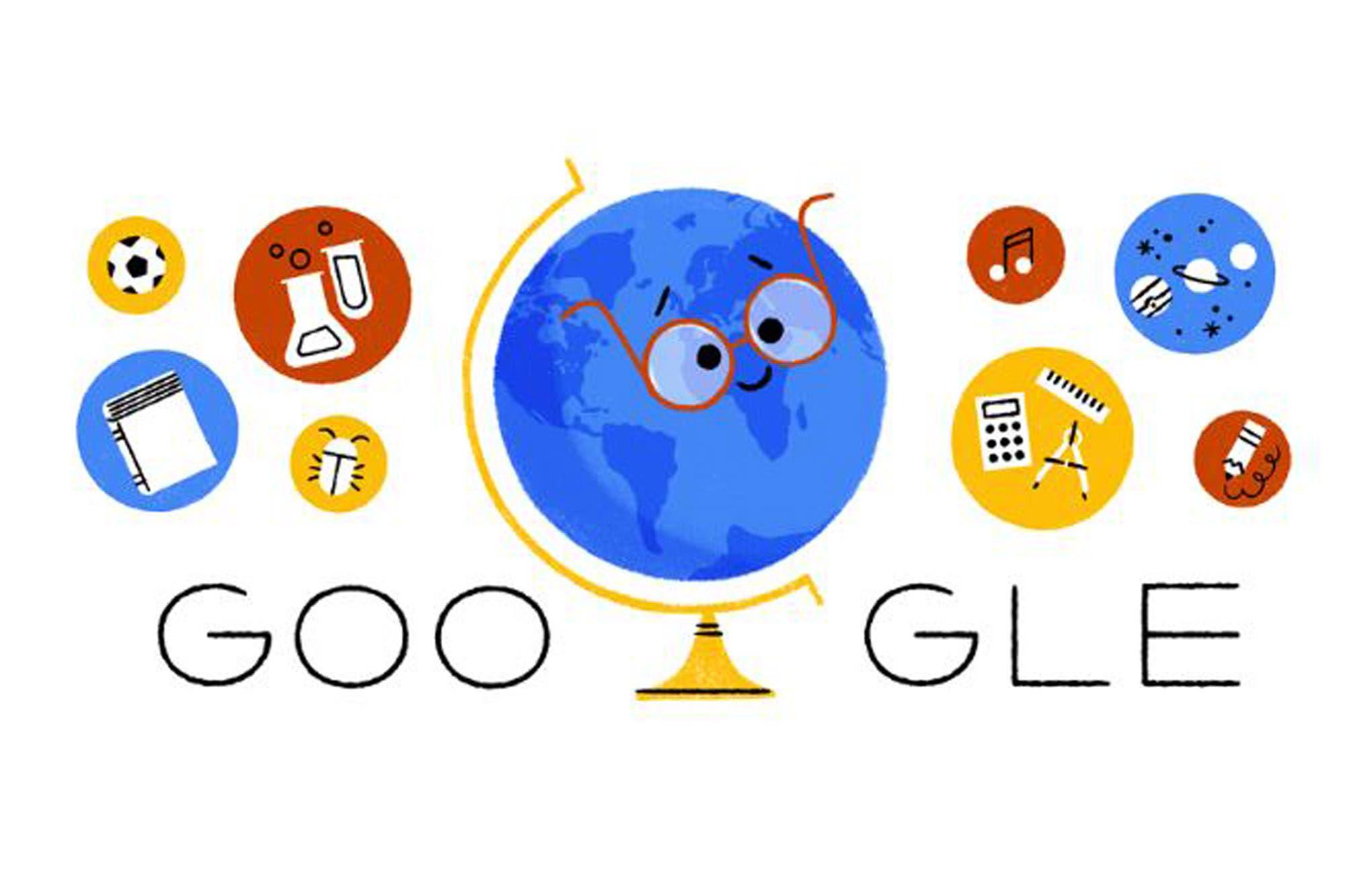 Día del maestro: el homenaje de Google a Domingo Faustino Sarmiento