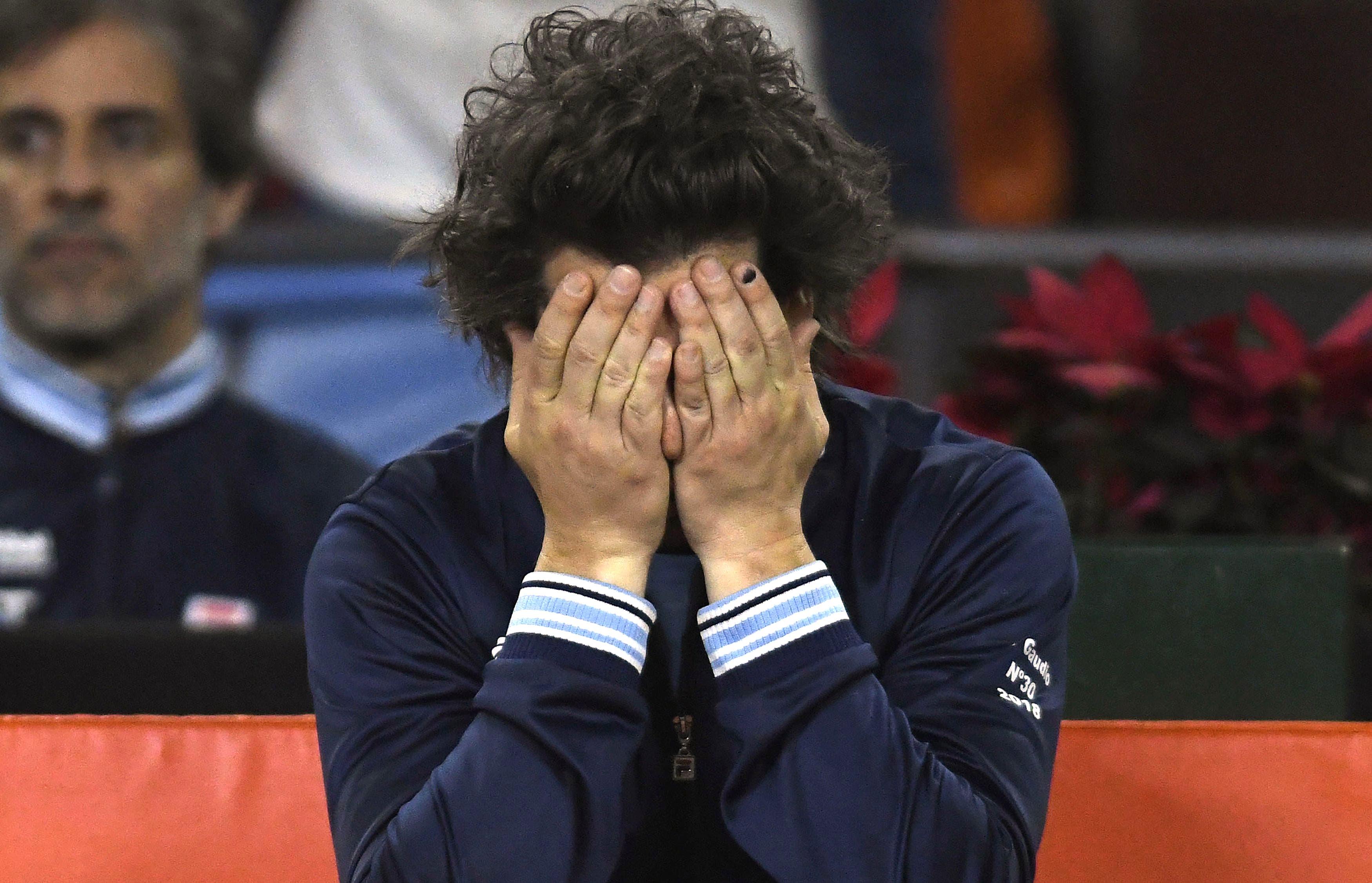 """Gastón Gaudio volvió a pensar """"qué mal que la estoy pasando"""", pero ahora como capitán de Copa Davis"""