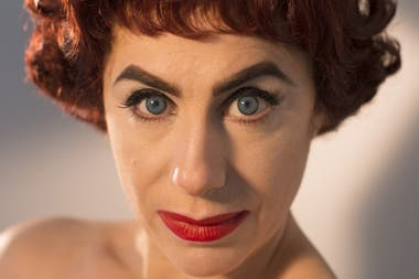 Radano como Joan Crawford